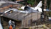 سقوط هواپیما در کلمبیا با 7کشته +فیلم