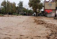 طغیان رودخانهها در گیلان؛زیرساختها و چند پل تخریب شد
