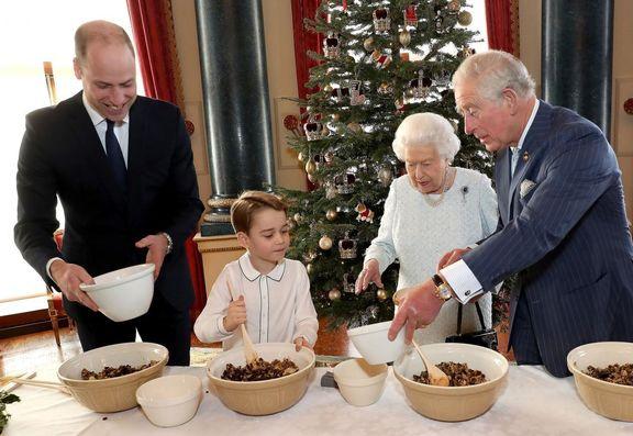 چهار عضو خاندان سلطنتی در یک قاب +عکس