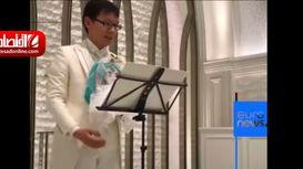 ازدواج یک مرد ژاپنی با عروس مجازی! +فیلم