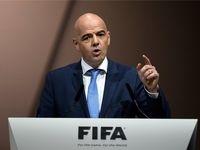 رییس فیفا: سیاست نباید در فوتبال دخالت داشته باشد