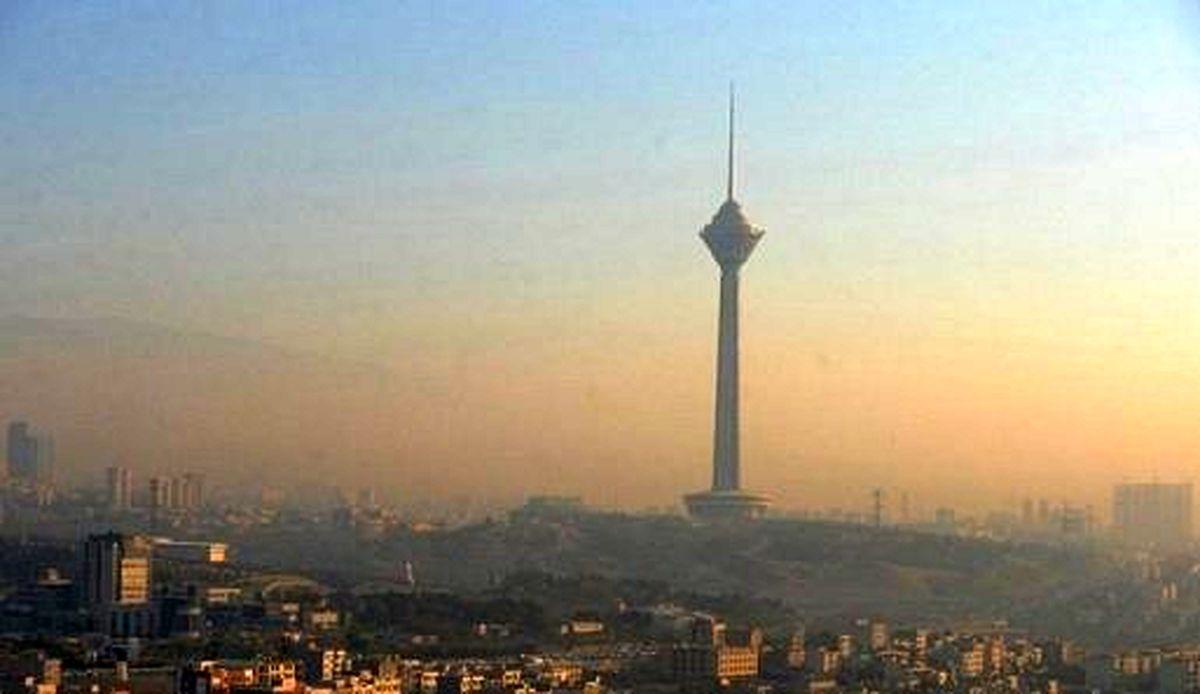 افزایش غلظت ازن در هوای پایتخت