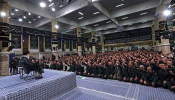 رهبر معظم انقلاب: آمریکاییها موفق نشدند حالت نمادینی از تسلیم ایران درست کنند/  فشار حداکثری شکست خورده است به کاهش تعهدات هستهای ادامه میدهیم