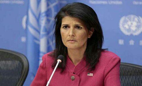 نیکی هیلی: تا تحقق کامل اهدافمان در سوریه میمانیم