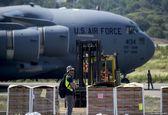 هواپیمای نظامی آمریکا در مرز کلمبیا با ونزوئلا بر زمین نشست +فیلم