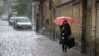 امروز و فردا در کدام استانها باران میبارد؟