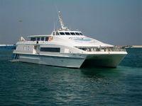تعلیق خط کشتیرانی مسافری بوشهر - خارگ