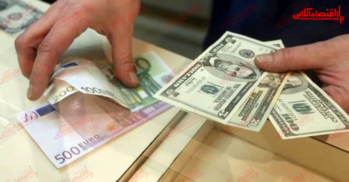 نرخ ارز در تابلوی صرافیها نمایان شد/ قیمت فروش دلار به ۲۴۲۵۰تومان