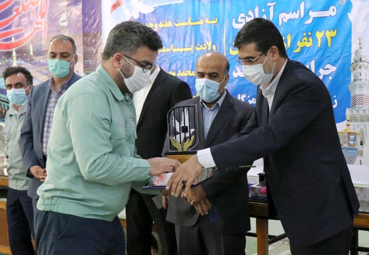 آزادی ۱۱۰زندانی با مشارکت فولاد هرمزگان