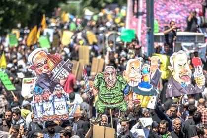 راهپیمایی روز جهانی قدس در تهران +تصاویر