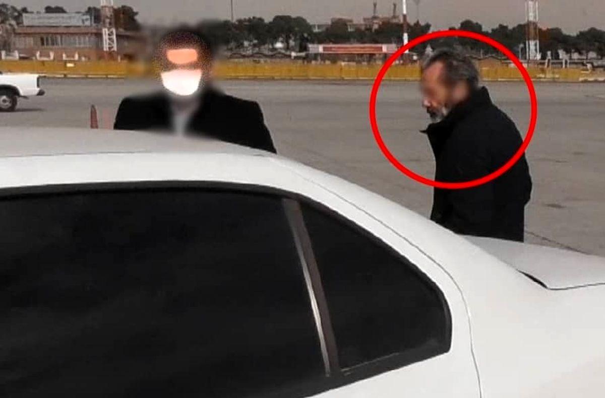 دستگیری معاون بینالملل هولدینگ سرآوا، حین فرار +عکس