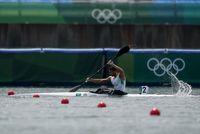 حذف قایقران ایرانی از المپیک
