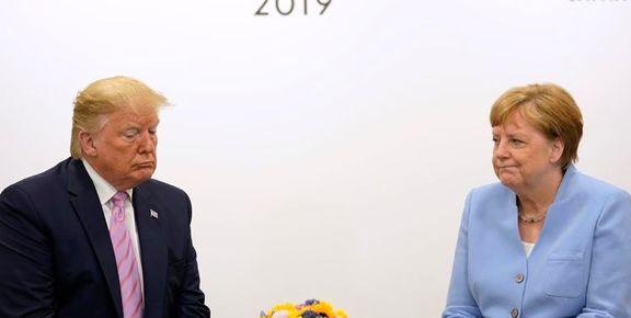 ایران موضوع نشست مرکل و ترامپ در حاشیه اجلاس گروه20