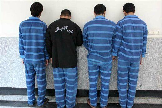 13 سارق دستگیر شدند!