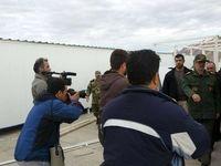 بازدید وزیر دفاع از مناطق زلزلهزده کرمانشاه +تکمیلی