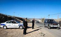 شیوه برخورد پلیس با خودروهای غیر بومی در ورودی پنج شهر