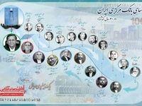 بانک مرکزی ایران 59ساله شد/ ۱۹رییس کل در یک قاب
