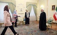 دیدار وزرای خارجه هلند و اسپانیا با رییسجمهور +تصاویر