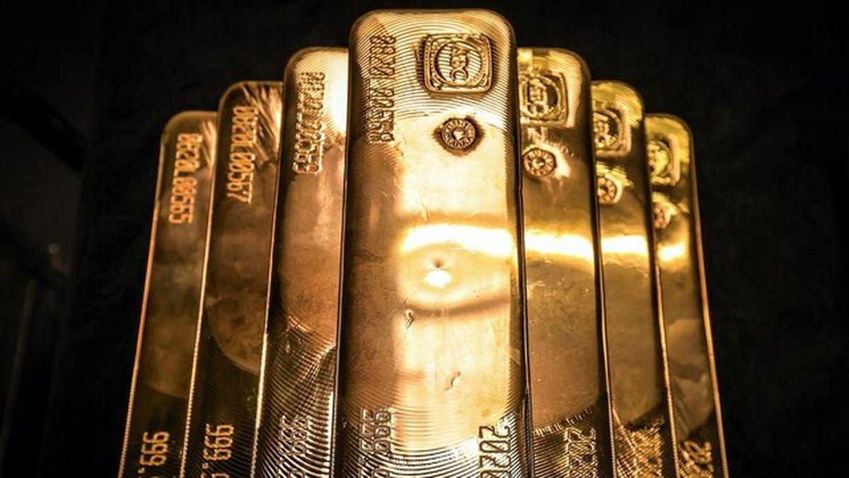 ریزش ۳۴دلاری قیمت طلای جهانی