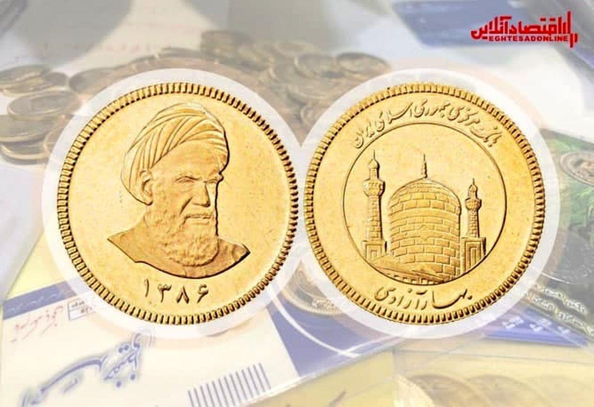قیمت سکه امروز چند؟ (۱۴۰۰/۶/۱)
