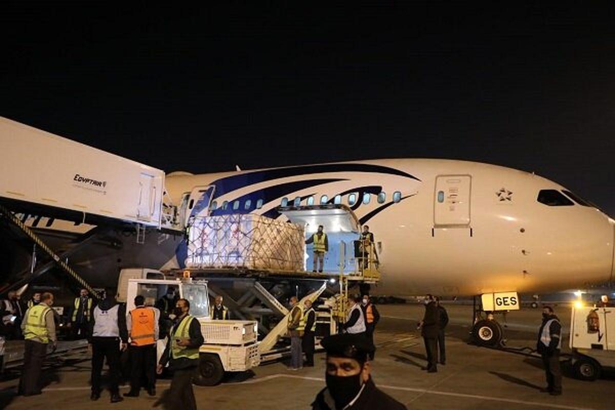 بارگیری ۱۰۰هزار دزی واکسن کوبایی- ایرانی به مقصد ایران