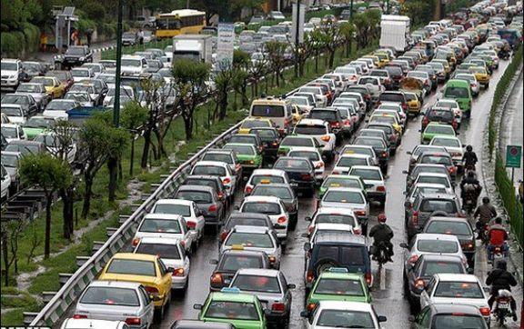 وضعیت ترافیکی پایتخت در صبح چهارشنبه