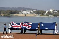 مراسم ویژه استرالیا برای جشن روز ملی +تصاویر