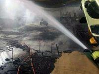 آتشسوزی در کارگاه ۷۰۰متری مبل و صندلی جاده ساوه