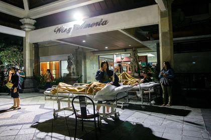 زلزله ۷ ریشتری در اندونزی +تصاویر