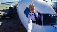 خوشتیپترین خلبان زن دنیا +عکس