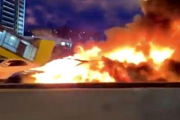 خودروی خودران «تسلا» تصادف کرد