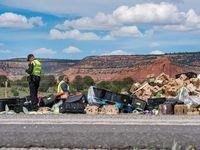 تصادف مرگبار در نیومکزیکو +تصاویر
