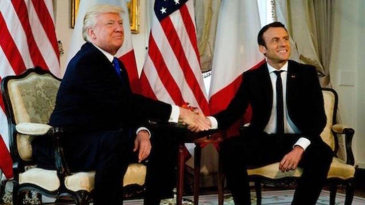 گفتوگوی شفاهی ماکرون و ترامپ پیرامون برجام