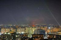 مقابله پدافند هوایی سوریه با تجاوز رژیم صهیونیستی