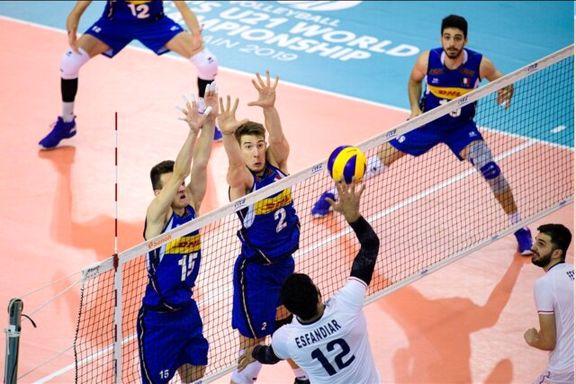 قهرمانی تاریخی جوانان والیبال ایران در جهان
