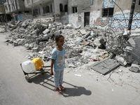 قطر پنج میلیون دلار به غزه کمک مالی میکند