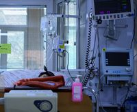 بیماران کرونایی در وضعیت قرمز +عکس
