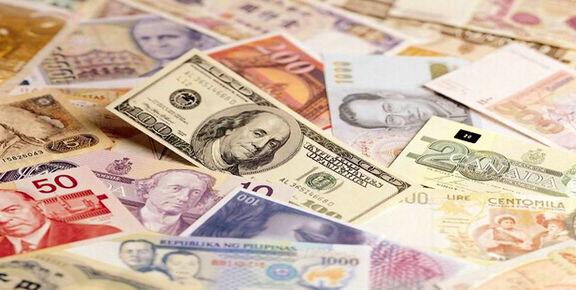 کاهش قیمت رسمی ۳۳ ارز