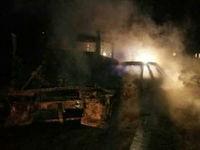 6 نفر در تصادف زابل  زنده در آتش سوختند