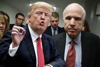 ترامپ به سناتور مُرده هم رحم نکرد!