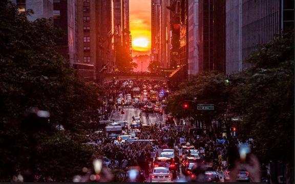 صحنهای دیدنی در نیویورک  +عکس