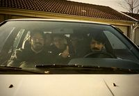عکس زیرخاکی کیهان کلهر، حسین علیزاده و محمدرضا شجریان