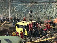 آخرین اسامی حادثه دیدگان واژگونی اتوبوس