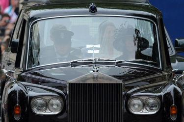 رولز رويس فانتوم استفاده شده در عروسی سلطنتی نوه ملکه انگلیس