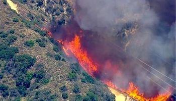 کوههای بهدیل در بهبهان دوباره شعله ور شد