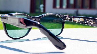تولید برق با عینک آفتابی!