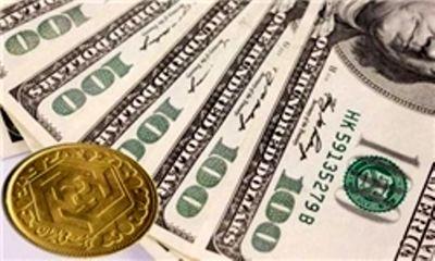 افت نرخ دلار و رشد قیمت سکه در بازار آزاد