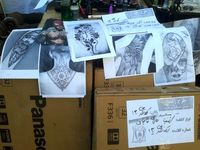 بازداشت مردی که برای بانوان تتو میزد +عکس
