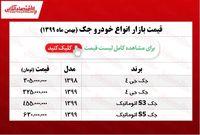 قیمت خودرو جک در بازار پایتخت +جدول