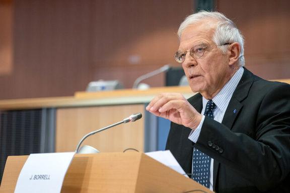 بورل از طرح به اصطلاح صلح آمریکا انتقاد کرد
